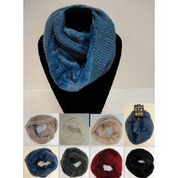 24 of Knitted Infinity Scarf [plush KniT-Tight Knit]