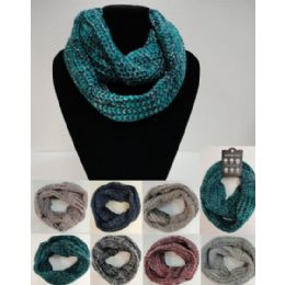 24 of Wide Knitted Infinity Scarf