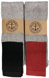 180 of Yacht & Smith InsulateD-BooT-Socks - Cotton Terry Sole Thermal Tube Socks