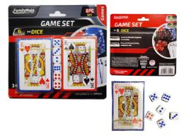 72 of 2 Packs Of Playing Cards With Dice