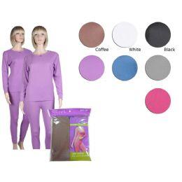 36 of Ladies Thermal Set In Purple