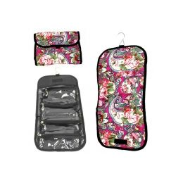 120 of Hanging Cosmetic Bag In Assoerted Prints - Folds Up To Store!