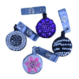 240 of Plastic Retractable Id Holders In Assorted Styles / Colors