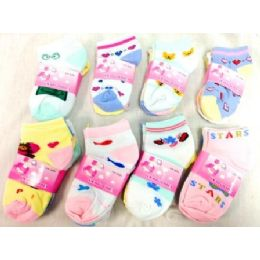 600 of Baby Socks In Assorted Styles