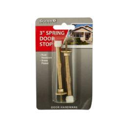 144 of BrasS-Plated Spring Door Stops