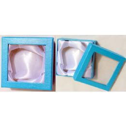 96 of Jewelry Display Gift Box Color Available At Blue, Pink, Purple.