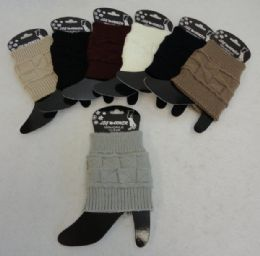 12 of Knitted Boot Cuffs [square Knit]