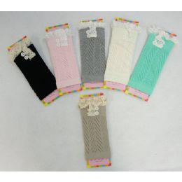 12 of Pastel Boot Cuffs Antique Lace-2 Buttons