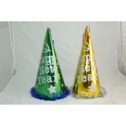 96 of New Year Paper Glitter Hat