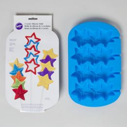 96 of Wilton Stacked Star Molds Blue
