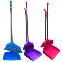 24 of Broom With Long Dustpan Handle