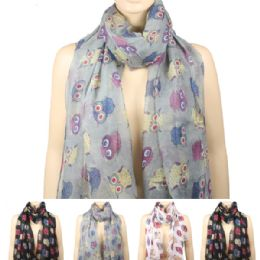 36 of Womens Fashionable Winter Scarf Owl Style