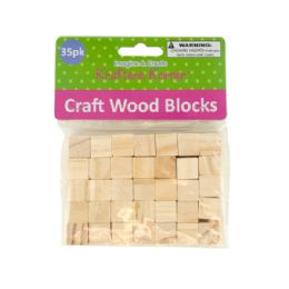 72 of Natural Wooden Craft Blocks