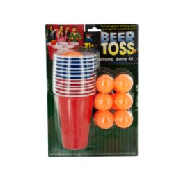 12 of Beer Toss Drinking Game Kit