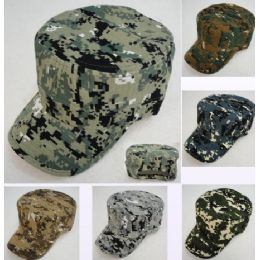 12 of Cadet Hat [digital Camo]