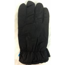 24 of Winter Black Ski Glove With Inside Lining And AntI-Slip Grip