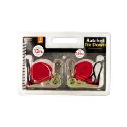 12 of Ratchet Tie Down Set