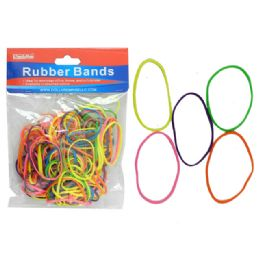 144 of 100 Grams Assorted Rubber Bands