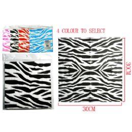 144 of 20 Piece Zebra Print Napkins