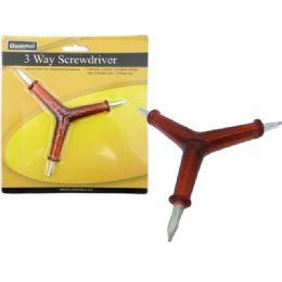96 of 3 Way Screwdriver