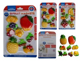 96 of 8 Piece Fruit Magnets