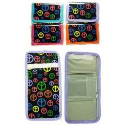 72 of Peace Sign Print Wallet