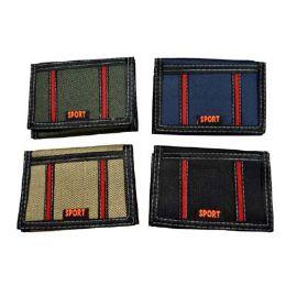 72 of Assorted Color Sport Wallet