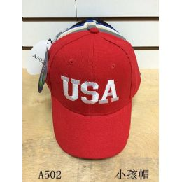 144 of Usa Solid Color Baseball Cap/ Hat