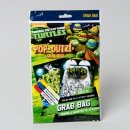 96 of Art Boards Teenage Ninja Turtles Pop Outz! Markers, Stickers And Pop Out Characters