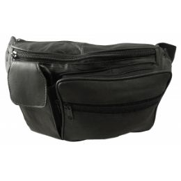 24 of Lambskin Leather Fanny Pack