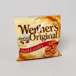 72 of Werther's Original Caramel Hard Candies 2.65 Oz Peg Bag