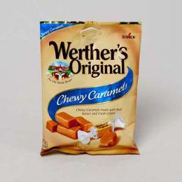 72 of Werther's Original Chewy Caramel 2.4 Oz Peg Bag