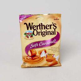 72 of Werther's Original Soft Caramel 2.2 Oz Peg Bag