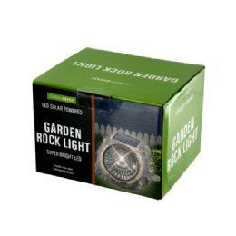 6 of Solar Powered Led Garden Rock Light