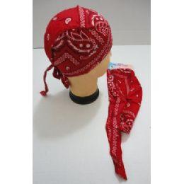 72 of Skull CaP-Red Paisley