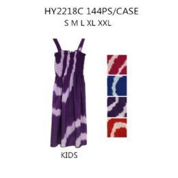 60 of Girls Printed Summer Dress Assorted Colors