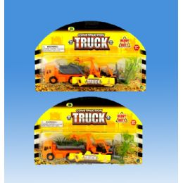72 of Construction Truck In Blister Card