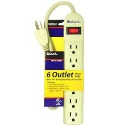 36 of 6 OUTLET POWER STRIP U/L