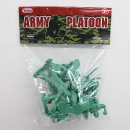 """96 of 12pc 3"""" Army Action Figs."""
