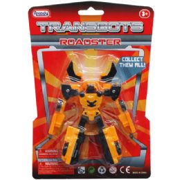 """48 of """"transbots"""" Roadster Action Figure"""
