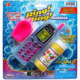 """48 of 2pc 5.5""""bubble Cellphones & Accss In Blistered Card Asst."""