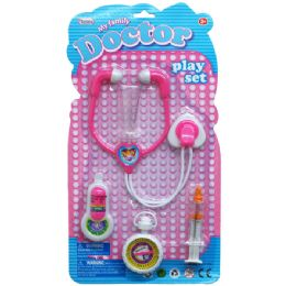 48 of 5pc My Family Doctor Play Set In Blister Card