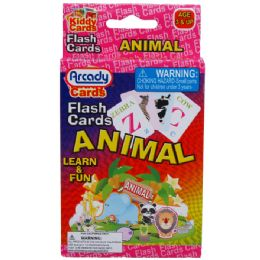 72 of 27 Learning Flash Cards(animals) 2asst In Peg Able Color Box