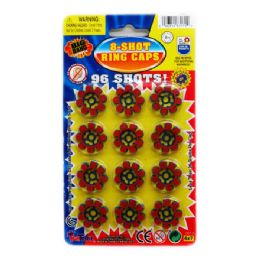 576 of 8-Shot 12-Ring Caps In Blister Pack