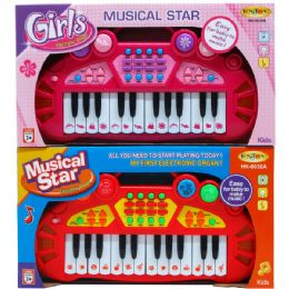 "24 of 14"" B/o Musical Star Electronic Organ In Open Box"