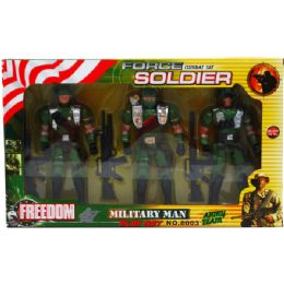 24 of 3pc Soldier Force Action Figures