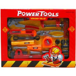 24 of Power Tools Play Set In Window Box