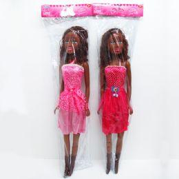 "8 of 30"" Sofia Black Doll, In Poly Bag W/header"