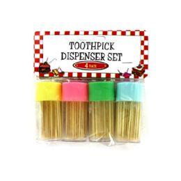 72 of Toothpick Dispenser Set