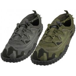 "36 of Men Camouflage Lace Up ""wave"" Water Shoes"